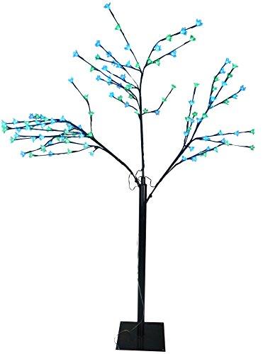 165cm Lime Green & Blue LED leuchten Kirschblüten-Baum - Weihnachten & das ganze Jahr ()