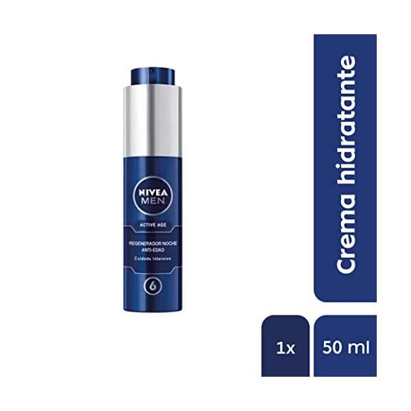 Niveamen – Active age, crema de noche 6 en 1 regeneradora