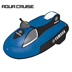 Idea Regalo - Moto d'acqua gonfiabile Junior Elettrica YAMAHA AQUA CRUISE Recreational Series
