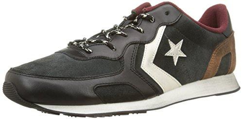 Converse - Auckland Racer Ox Suede/Leathe - , homme noir (Black/Iron)