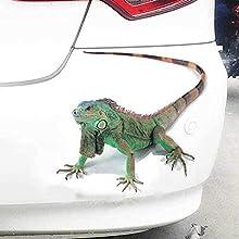 Recaptured© 3D Gecko/Lizard Car Sticker Animals Bumper Car-styling Vinyl Decal Sticker Motorcycle Accessories