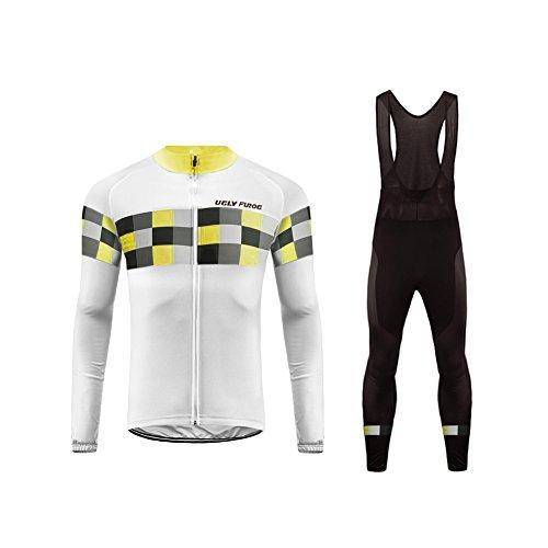Uglyfrog #20 Radfahren Jersey + Lange Hose mit Gel PAD Langarm Spring Bike Set