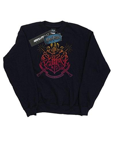 Harry Potter Femme Hogwarts School List Sweat-Shirt Noir