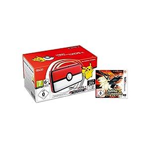 New Nintendo 2DS XL Poké Ball Edition + Pokémon Ultrasonne