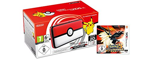 New Nintendo 2DS XL Poké Ball Edition + Pokémon Ultrasonne