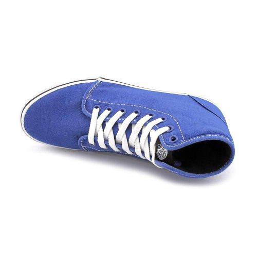 Hi Carrinhas Clássico 106 Branco Sapatilha Azul Ténis Verdadeiro Herren 6BwIqCgw