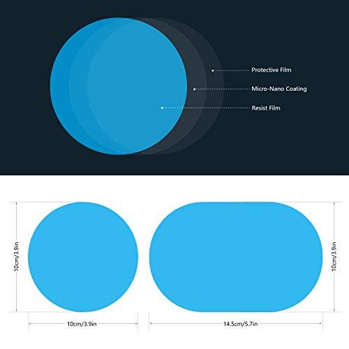 2 Stücke Auto Anti Wasser Nebel Film Anti Fog Rainproof Rückspiegel Schutzfolie Hoher Standard In QualitäT Und Hygiene Auto & Motorrad: Teile Auto-anbau- & -zubehörteile