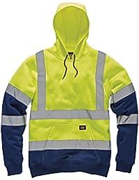 Dickies Hi Viz Vis sudadera con capucha de alta visibilidad seguridad trabajo chaqueta con capucha dos tonos,…