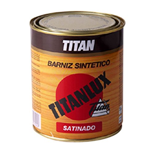 Titanlux - Barniz satinado incoloro titanlux 375 ml