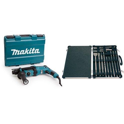 Makita - Martillo Rotativo Combinado 26Mm Hr2630 +