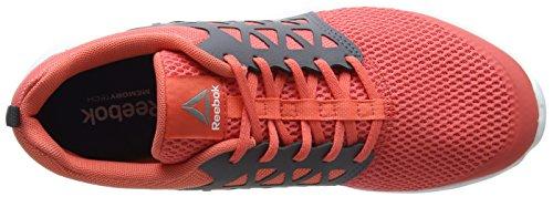 Reebok Bd5540, Scarpe da Trail Running Donna Rosso (Fire Coral/ash Grey/white/pewter)