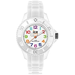 Ice-Mini Children's Size Ice-Watch White Dial Colourful Numbers White MN.WE.M.S