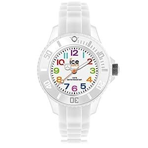 Ice-Watch – Ice Mini White – Weiße Jungenuhr mit Silikonarmband – 000744 (Extra small)
