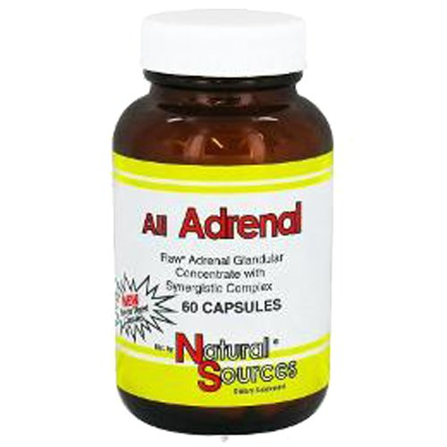 Natural Sources All Adrenal 60 Capsules Test