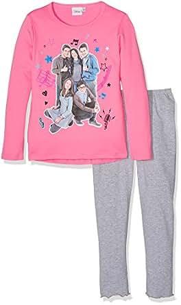 Disney interlock alex co pigiama bambine e ragazze rosa for Alex co amazon
