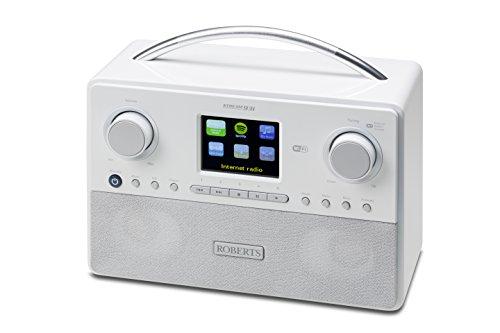 Roberts Radio Stream93i (DAB+/FM/Spotify/ USB + WIFI Internetradio) weiß mit Fernbedienung