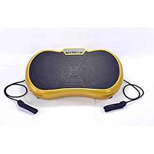 Panan Haus Vibrationsplatte VP200, Profi Vibrationsgerät mit Power Dehnbänder + Fernbedienung + 3D-Vibration – 150 kg