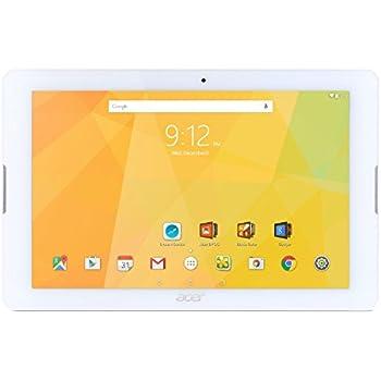 """Acer Iconia One 10 B3-A20-K08M Tablette Tactile 10"""" Blanc (MediaTek Quad-Core, Mémoire 16 Go, Android)"""