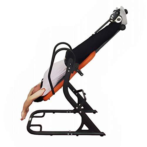 Contactsly Zurück Inversionstabelle Fitnessgeräte auf dem Kopf stehend auf dem Kopf stehend auf dem Kopf stehende Ausrüstung Sport-Kombigeräte Inverted Chair Reduzieren Sie Rückenschmerzen, Stress
