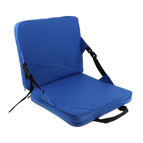 6b513631c EUYOUZI Set Rocking Chair Cushions Outdoor Folding Fishing Chair Seat &  Back Pad with Foldable Handle