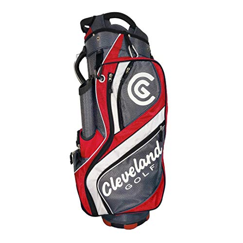 Cleveland CG Cart Bag 2015 Charcoal/Red Charcoal/Red -