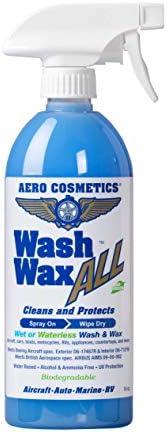 Wet or Waterless Car Wash Wax 16 oz. Aircraft Quality Wash W