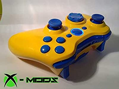 Xbox 360 Rapidfire Controller - Yellow and Blue