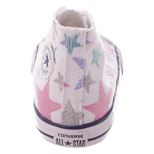 Converse All Star Hi Canvas Graphics - White/Star/Ambient White/Stars