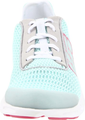 Columbia DRAINMAKER BL3673 Damen Sneaker Türkis (Wind, Fuschia Rose 749)