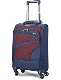 824f81a962 Aerolite Ultra Lightweight Carry On Hand Cabin Luggage Spinner Suitcase  Travel Trolley with 4 Wheels