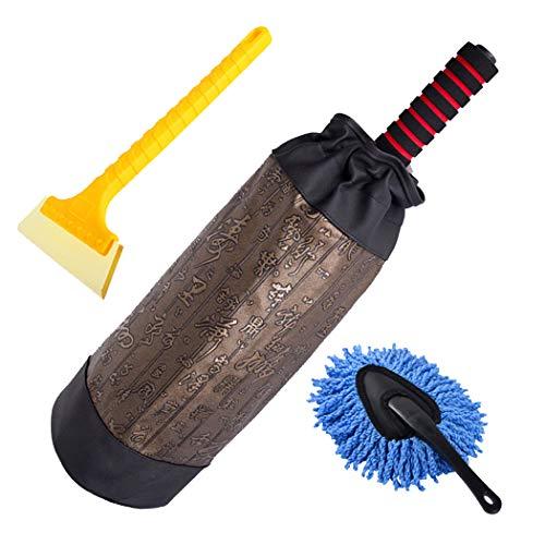 AXIANQI Auto Staubdicht Reinigen Staub Spezialwerkzeuge Auto Kehren Federn Clean Brush Mop Floating...