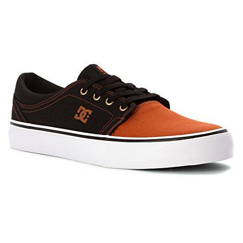 DC Shoes Trase Tx, Baskets mode homme Black/Black/Brown