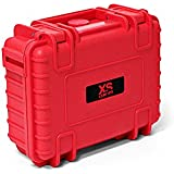 XSories - BIG BLACK BOX Malette/Valise de transport de 4,3L Rigide & Etanche (IP 67) - Rouge