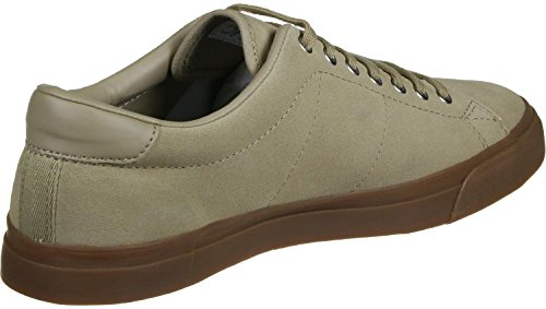 Fred Perry Underspin Suede Schuhe sandstorm