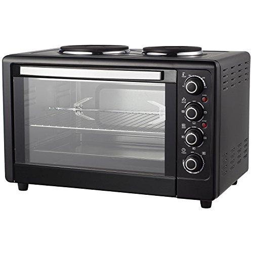 Grafner XXL Heissluft Ofen mit Kochplatten und...