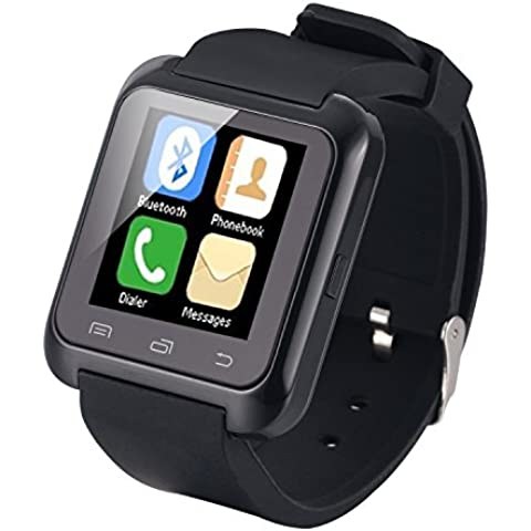 EasySMX Touch Screen Smart Watch Bluetooth Compatibile Con Dispositivi IOS e Android Telefoni e Smartphone Chiamata Contapassi Fotocamera WhatsApp Smartwatch Economico