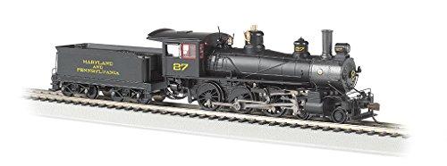 Preisvergleich Produktbild Bachmann Industries Baldwin 52 Driver 4-6-0 DCC Ready Locomotive - MARYLAND & PENNSYLVANIA 27 - (1:87 HO Scale)