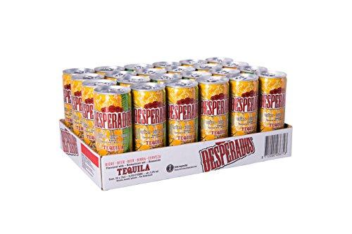Desperados Tequila Bier Dose (24 x 0.25 l)