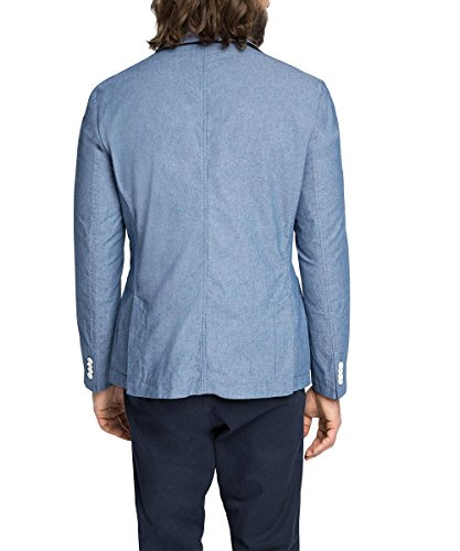 ESPRIT - mit Seitenschlitzen, Blazer Uomo Blu (BLUE 430)