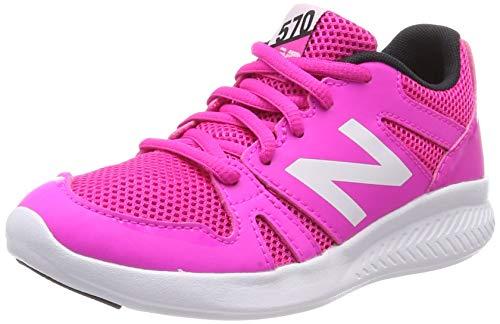 New Balance 570, Zapatillas Deportivas para Interior Unisex Niños, Rosa White Pink, 30 EU