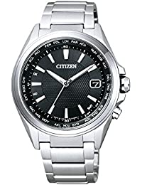 Citizen Herren-Armbanduhr Radio Controlled Analog Quarz Titan CB1070-56E