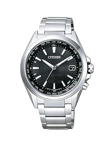 Citizen Herren-Armbanduhr RADIO CONTROLLED Analog Quarz Titan CB1070-56E