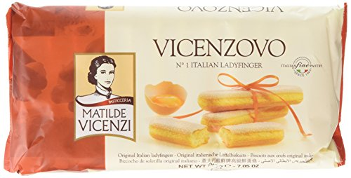 Vicenzi Lady Fingers 200 g (Pack of 4)