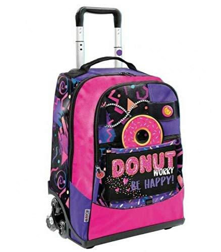 l'atteggiamento migliore 83953 13380 TROLLEY ZAINO SCUOLA GOPOP Donut pop-up 5 grafiche GIOCHI PREZIOSI 3 RUOTE  + omaggio portachiave girabrilla + omaggio 10 penne glitterate