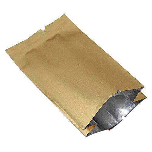 6.5x22+4cm (2.5'x8.6'+1.5') Lebensmittel Snack Nuts Aufbewahrungs Side Gusset Verpackung Heat...