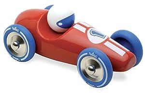 Vilac 2247B - Coche de Carreras en Miniatura, Color Rojo