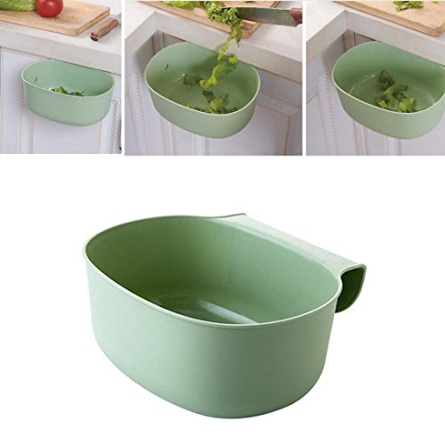 Deko-küche-schränke (squarex-Wand Küche Schrank Tür-Regal-Aufbewahrung Garbage Boxs)