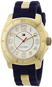 Reloj Tommy Hilfiger 1781307 de cuarzo para mujer con correa de silicona, color azul de Tommy Hilfiger