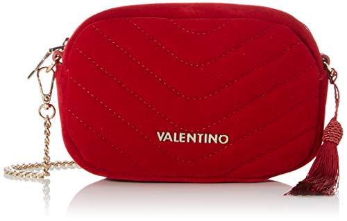 Valentino by Mario Carillon, Sacs bandoulière femme, Rouge (Rosso), 5.5x12.5x18 cm (B x H T)