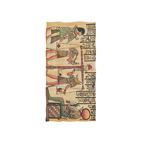 linomo Handtuch Antike Ägypten Handtuch Baumwolle Gesichtshandtuch Geschirrtuch für Kinder Mädchen Jungen Erwachsene
